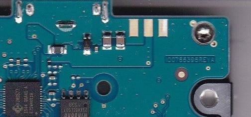Таблица замены USB и SATA печатных плат жестких дисков.